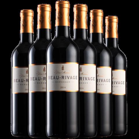 Borie-Manoux 波赫马努 拉马克 波尔多干红葡萄酒 750ml*6支
