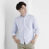 lativ 诚衣 50772 牛津纺条纹衬衫