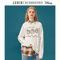 LED'IN 乐町✖️ 奇奇蒂蒂联名系列 CWDCA1225 女士长袖T恤