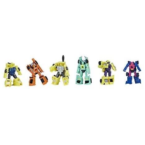 中亚Prime会员 : Hasbro 孩之宝 变形金刚 围城 银河奥德赛 微型战士 6件套