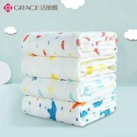 移动专享:grace 洁丽雅 婴儿水洗纱布浴巾