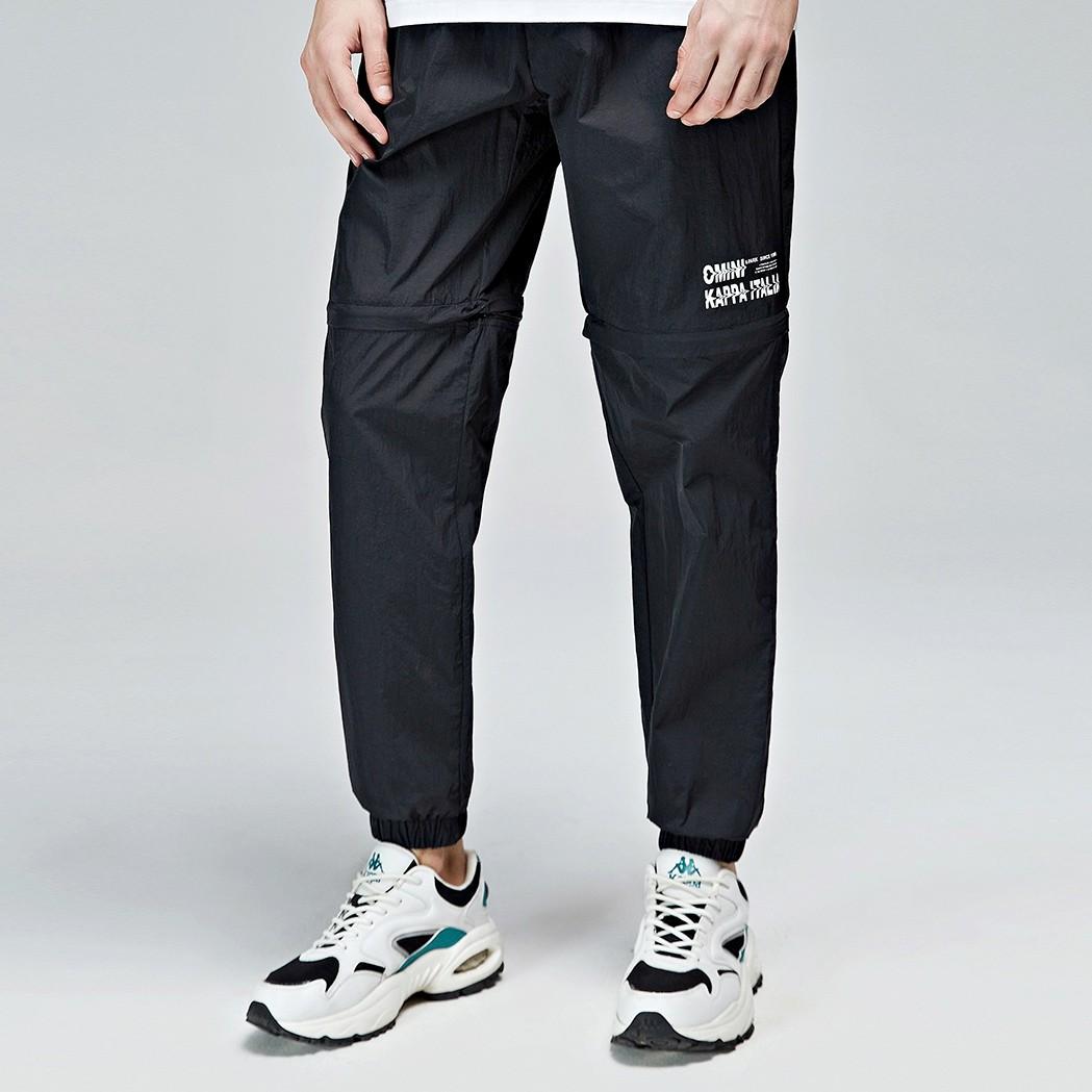 Kappa 卡帕 K0B32AY01DjANC 男士梭织长裤 黑色-990 M