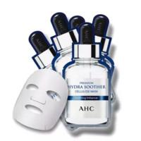 韩国进口 AHC 第三代B5高浓度玻尿酸面膜 5片/盒 补水保湿 改善暗沉 滋润清爽 *3件