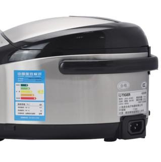 TIGER 虎牌 JAX-A10C 电饭煲 3L 银色