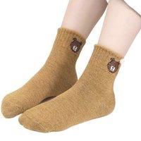 Nan ji ren 南极人 儿童棉袜 10双装 卡通小熊 XL