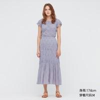 5日0点:UNIQLO 优衣库  435960  女士打褶长裙