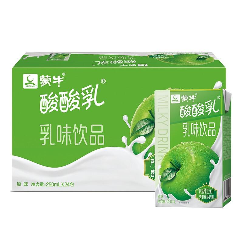 MENGNIU 蒙牛 酸酸乳 乳味饮品 原味 250ml*24盒