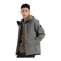 SALEWA 沙乐华 N'LAB系列 男子冲锋衣 SWAWI91075 铅灰 M