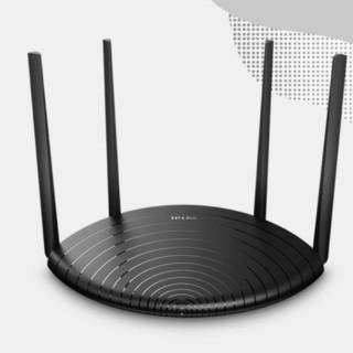 TP-LINK 普联 TL-WDR5660千兆版 双频1200M家用路由器 Wi-Fi 5 黑色 单个装