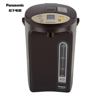 松下(Panasonic)4L电水壶 电热水瓶 备长炭内胆 可预约 全自动智能保温烧水壶 NC-BC4000