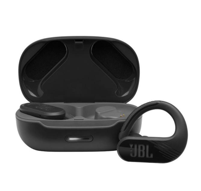 JBL 杰宝 Endurance Peak II 入耳式真无线蓝牙耳机 黑色