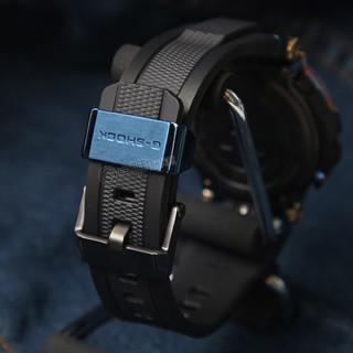 CASIO 卡西欧 G-SHOCK MT-G系列 55.8x51.7毫米太阳能动力腕表 MTG-B1000RB-2APR