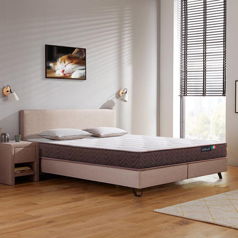 百亿补贴、移动专享 : CatzZ 瞌睡猫 经典款 邦尼尔乳胶弹簧床垫(乳胶版)120*200*22cm