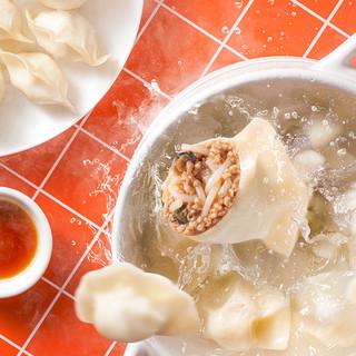 巴比馒头锁鲜酸辣爽口螺蛳粉水饺速冻早饭方便速食早餐夜宵煎饺子