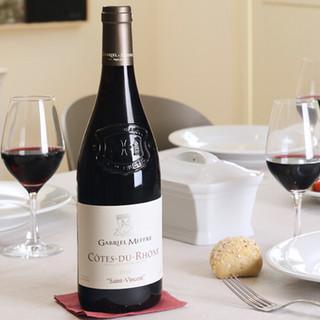 露颂 AOC 干红葡萄酒 750ml*6瓶