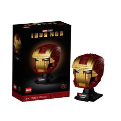 LEGO 乐高 Marvel漫威超级英雄系列 76165 钢铁侠头盔