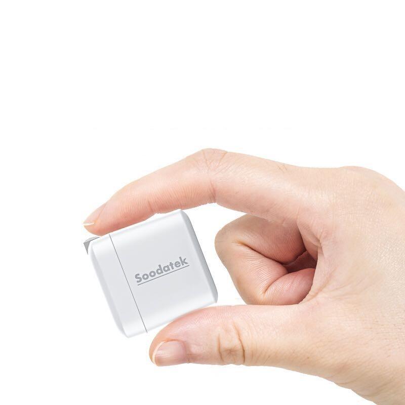 Soodatek PD20 苹果PD快充充电器 20W