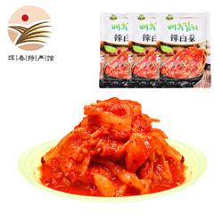 光明金达莱 韩国辣白菜 韩餐料理 方便面伴侣 泡菜 下饭菜 1200g 辣白菜
