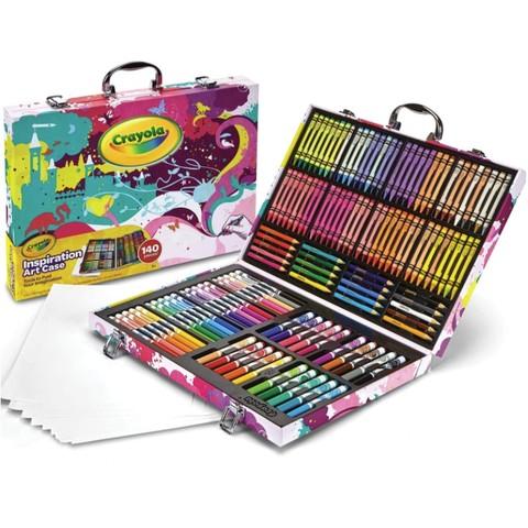 女神超惠买、中亚Prime会员:Crayola 绘儿乐 04-2555 灵感艺术盒着色套装