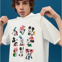 LEVI'S × DISNEY 米奇和他的朋友们 男士印花短袖T恤 A0612