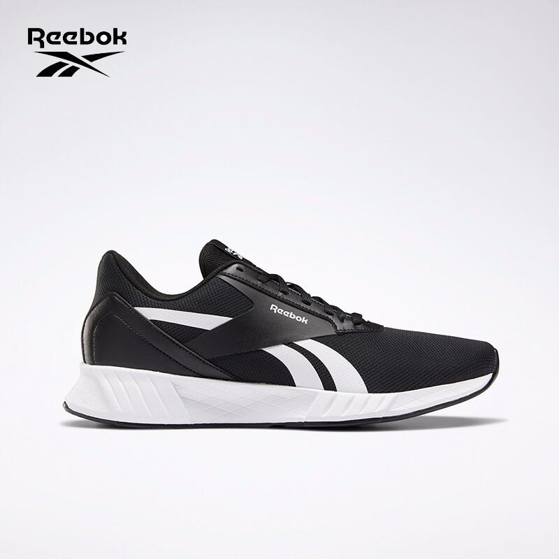 Reebok锐步 Lite Plus 2.0男女网面低帮运动跑步鞋 FU7580_黑色/白色 37.5