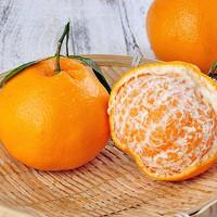 橙色哆 四川耙耙柑春见柑橘  中大果 净重4.5斤