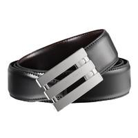 Calvin Klein 卡尔文·克莱恩 男士黑色系针扣式CK皮带腰带