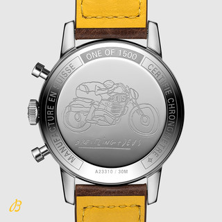 百年灵新款TOP TIME DEUS复古全球限量机械腕表