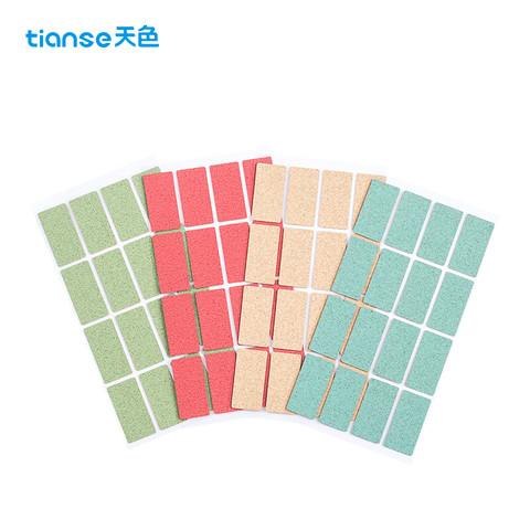 Ttianse 天色 TS-4306 原木标识贴 4色混搭