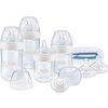 NUK 自然母感系列 10225147 PP奶瓶六件套 (150ml*2+260ml*2+奶瓶刷+安抚奶嘴 0-18个月)