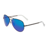 LACOSTE 拉科斯特 男士太阳镜 L166SA-001 黑色镜框蓝色渐变镜片 61mm
