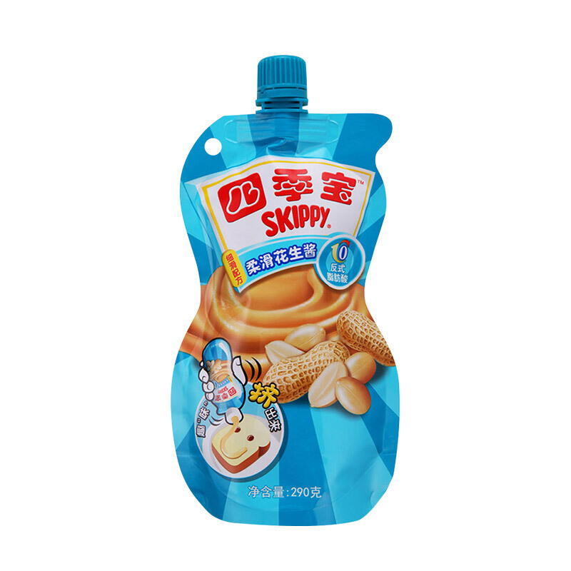 SKIPPY 四季宝 柔滑花生酱  290g