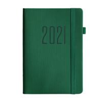 白金丽人 P-210 2021年日程本 A5/200张 墨绿色