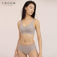 UROOM 无钢圈乳胶胸罩 巴黎灰 XL(多款可选)