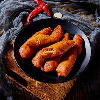 青石巷子 麻辣五香燒烤烤面筋卷面筋卷小時候的味道網紅小吃零食