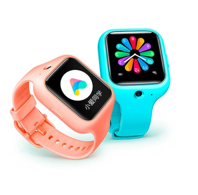 MI 小米 儿童手表 35.8mm 蓝色 橡胶(Wi-Fi、GPS、北斗)