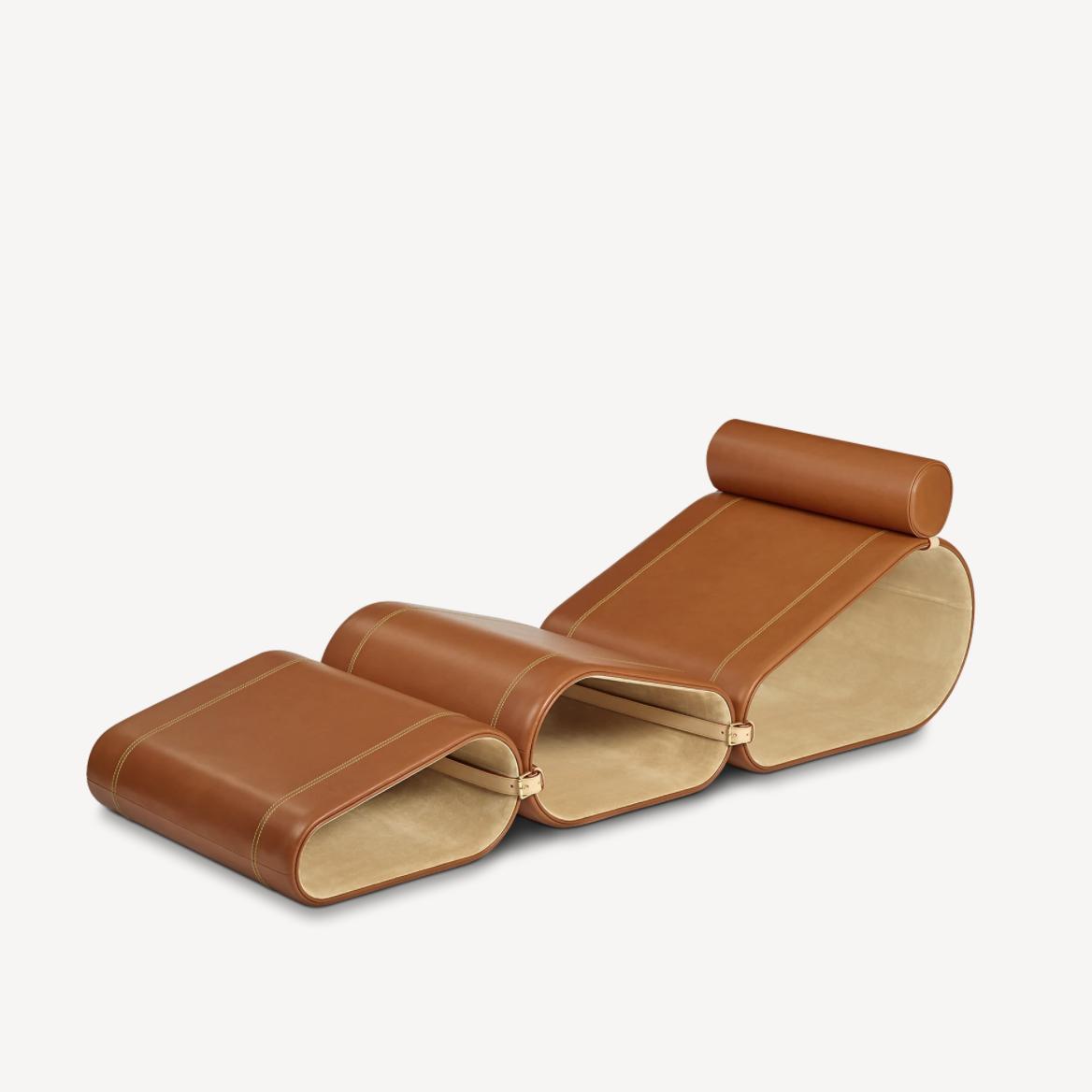 Louis Vuitton Objets Nomades系列 便携躺椅