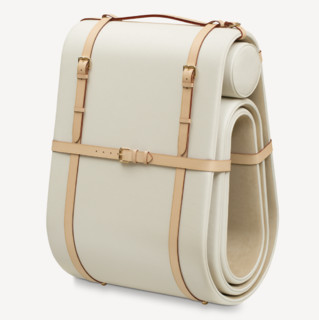 Louis Vuitton Objets Nomades系列 便携躺椅 白色
