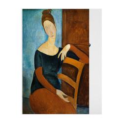 HOWstore 莫迪里阿尼版画Jeanne Hébuterne seated 不含框