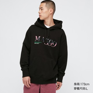优衣库 男装/女装 (UT) 卢浮宫博物馆连帽卫衣(长袖) 437648