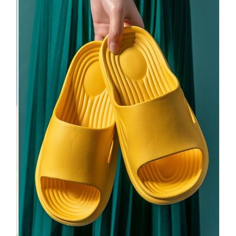 惠夫人  男女家居EVA拖鞋  2双装