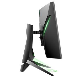ANTGAMER/蚂蚁电竞 31.5英寸 2K高清165Hz 1000R曲率 HDR400 1MS 不闪屏 升降旋转 电竞电脑显示器 ANT32VQC