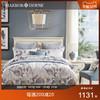 Harbor House美式家纺全棉床单被套贡缎1.8四件套床上用品Letizia
