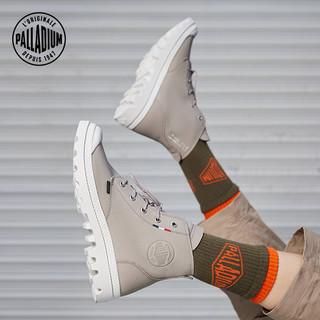 PALLADIUM帕拉丁经典质感高帮皮靴简约英伦马丁靴男女靴77076