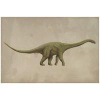 季大纯《恐龙》装饰画 简约挂画 礼品 艺术版画 装裱尺寸:54×45cm