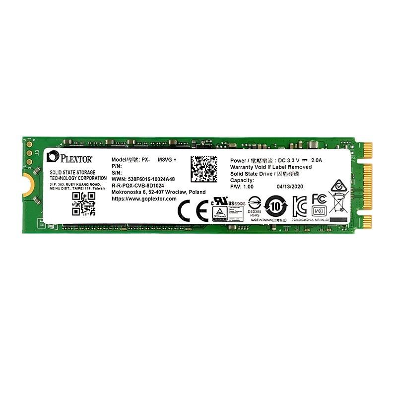 PLEXTOR 浦科特 M8VC系列 M8VG+ SATA M.2固态硬盘 128GB