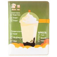 kinbor FA6126 A6线装笔记本喝茶态度绿色 单本装