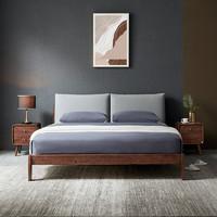 CHEERS 芝华仕 C052 北欧布艺软靠实木床 1.5m