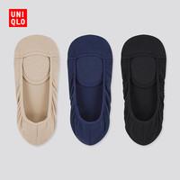 優衣庫 女裝 船襪(3雙裝) 435864 UNIQLO