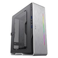 GAMEMAX 游戏帝国 小灵越AI白色 ITX mini 可壁挂式机箱